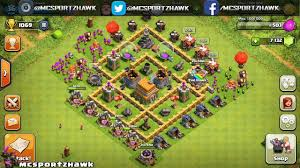 coc village layout level 5 clash of clans best defense strategy townhall level 5 coc th5