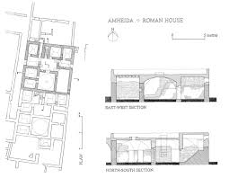 roman house floor plan valine