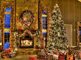 fireplace and christmas tree fireplace design and ideas