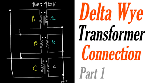 introduction to the delta wye transformer connection part 1 delta