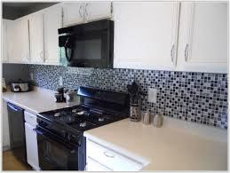 Black Subway Tile Kitchen Backsplash Black And White Subway Tile Kitchen Tiles Home Decorating