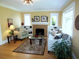 living room portland updated 1924 craftsman bungalow staged in portland or before