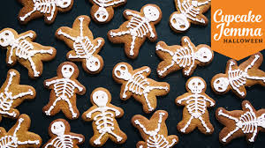 halloween special pt 1 skeleton gingerbread cookie recipe