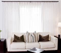 White Silk Curtains White Silk Drapes With Sheers Drapestyle