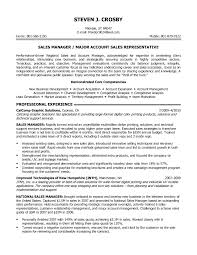Sample Resume Account Manager by Strategic Account Manager Resume Free Resume Example And Writing