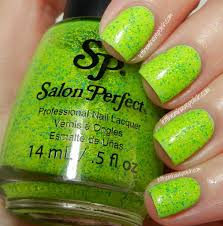 let them have polish salon perfect neon collision swatches
