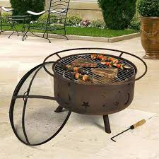 Firepit Grill Outdoor Pit With Cooking Grill Outdoor Designs