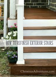 how to refinish a porch christinas adventures
