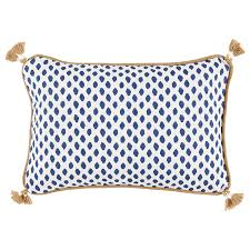 Sahara Midnight Tassel Pillow