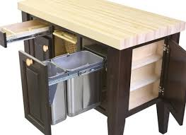 kitchen island trash bin kitchen island with pull out trash bin best kitchen island 2017 in