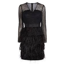 zaydee feather dress coast stores