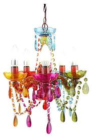 Multi Coloured Chandeliers Multi Coloured Chandelier Small Ishka