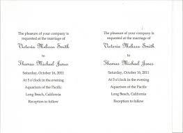 Wedding Invitations Examples Simple Wedding Invitations Wording Vertabox Com