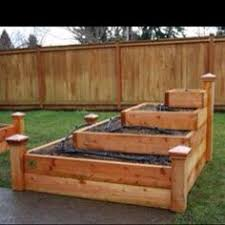 Raised Planter Beds by Trex Raised Planter Beds Wood That Wont Warp Or Fade Gardening