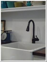 Farm Sink With Backsplash by Cheap Farmhouse Kitchen Sinks Foter