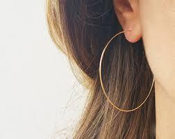 earring hoops hoop earrings etsy