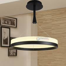 led dining room lighting various sizes new modern rings pendant l circles chandelier led