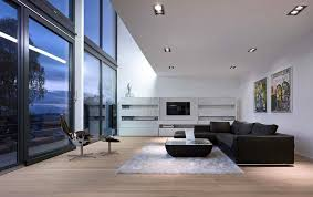 German Living Room Furniture A Matter Of Contrasts Modern House In Ahlen Germany