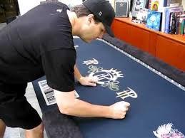 Custom Poker Tables Phil Hellmuth Signature Series Custom Poker Table Youtube