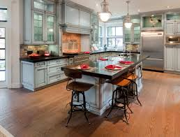 design ideas glass kitchen cabinets with dark countertop and
