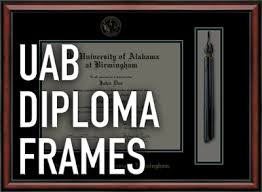 of alabama diploma frame uab commencement uab class rings