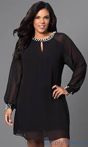 Black Cocktail Dresses With Sleeves It 618914 Short Chiffon Long Sleeve Dress Formal Prom Dresses