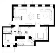 Industrial Loft Floor Plans The Podil Loft Apartment By Sergey Makhno