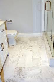 modren white tile bathroom floor inside design ideas