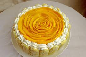 Tropical Themed Cake - cupcake wonderful mango curd cake filling tropical themed