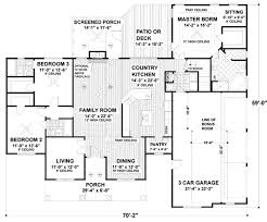 House Plans With Three Car Garage Traditional Style House Plan 3 Beds 3 00 Baths 2097 Sq Ft Plan