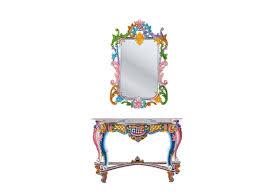kare designs fantasia console table wall mirror from kare design ibiza