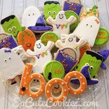 halloween cookies by so cute cookies the cookie jar pinterest