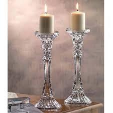 candelieri cristallo candelieri pilar rogaska h cm 30 2 pezzi set 2 candelieri