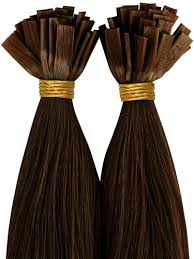 pre bonded hair extensions reviews vlii pre bonded flat tip remy hair extensions 4 chocolate brown