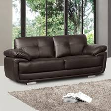 Brown Leather Sofas by Artena Dark Brown Leather Sofa Collection