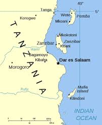 africa map islands spicy islands zanzibar and pemba purple roofs travel
