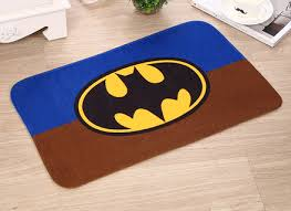 Plush Floor Rugs Dc Comic Batman Logo Soft Plush Carpet Area Rug Floor Mat 72