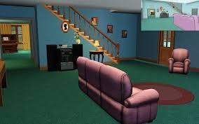Oddfamilyguysims  Bubbleblabber - Family guy room