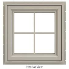 Home Depot Awning Windows Jeld Wen 23 5 In X 23 5 In V 4500 Series Awning Vinyl Window