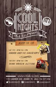 free event poster templates free photoshop event poster template pack for summer festivals