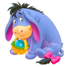 winnie the pooh easter basket eeyore blue easter egg hunt easter clip eeyore