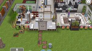 sims freeplay multi story architect house mansion tour request