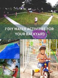 Diy Backyard Games by Roundup 7 Diy Water Activities For Your Backyard Water