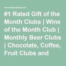 gift of the month clubs best 25 monthly club ideas on subscription