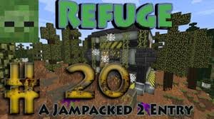 Crafters Supply Modded Minecraft Ftb Refuge Ep 20 Stable Power Supply U0026 More