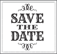 save the dates the hoboken 9 tips on save the dates and where to