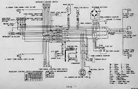 skema kelistrikan motor honda cb100 electrical wiring diagram