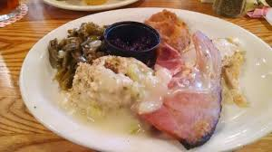 thanksgiving dinner picture of cracker barrel branson tripadvisor
