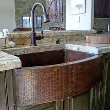 Kitchen Sinks Fireclay And Copper Kitchen Available In Single To - Copper sink kitchen