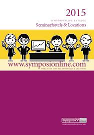 symposionline Katalog 2015 by seminargo issuu
